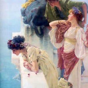 Alma-Tadema, Sir Lawrence: A Coign of Vantage