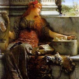 Alma-Tadema, Sir Lawrence: Poetry Oil Painting Reproductions