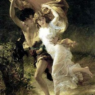 Cot, Pierre-Auguste(France): The Storm Oil Painting Reproductions