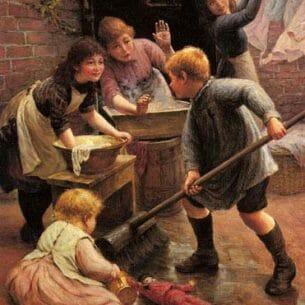 Armitage, Thomas Liddall: Washing Day