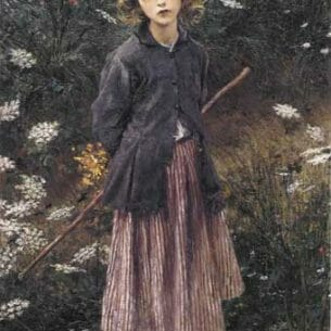 Bastien-Lepage, Jules: Young Girl