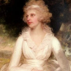 Beechey, Sir William: Portrait of Sophia Anne Raymond-Barker Oil Painting Reproductions