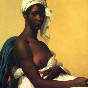 Benoist, Marie-Guillemine(France): Protrait of A Woman Oil Painting Reproductions
