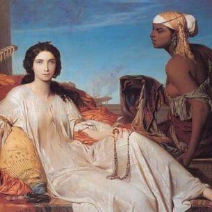 Benouville, Francois Leon(France): Esther Oil Painting Reproductions