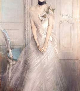 Boldini, Giovanni(Italy): A Portrait of Emiliana Concha de Ossa Oil Painting Reproductions