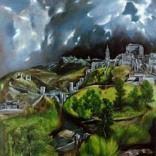 El Greco: View of Toledo Oil Painting Reproductions