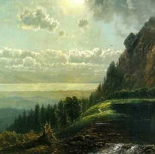 Edmund Darch Lewis – Catskill Landscape Oil Painting Reproductions