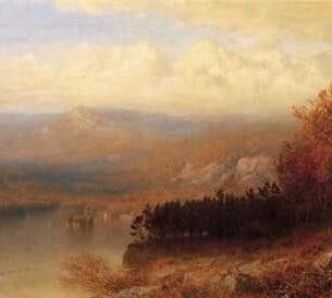 Alexander Helwig Wyant – Adirondack Scene in Autumn
