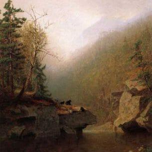 Alexander Helwig Wyant – Three Bears