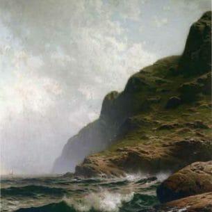 Bricher, Alfred Thompson(USA): Grand Summer, Grand Manan
