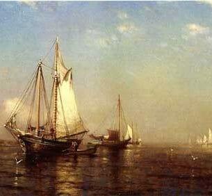 Arthur Quartley – Calm Morning, Boer's Head Oil Painting Reproductions
