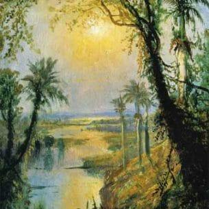 Edmund Darch Lewis – Cuban Landscape