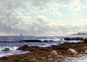 Bricher, Alfred Thompson – Along the Coast Oil Painting Reproductions
