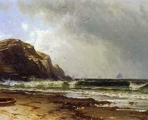 Bricher, Alfred Thompson – Approaching Storm Oil Painting Reproductions