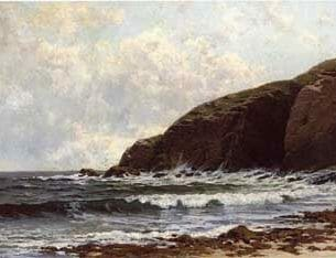 Bricher, Alfred Thompson – Coastal Scene