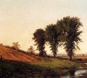 Bricher, Alfred Thompson – Haying Oil Painting Reproductions