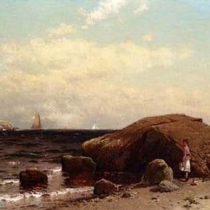 Bricher, Alfred Thompson – Looking out to Sea