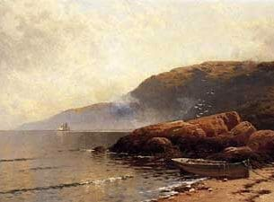 Bricher, Alfred Thompson – Summer Day at Grand Manan Oil Painting Reproductions