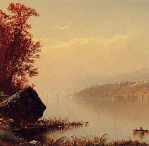 Bricher, Alfred Thompson – Up the Hudson Oil Painting Reproductions