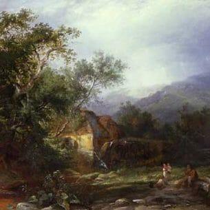 Boddington, Henry John – Devonshire Oil Painting Reproductions