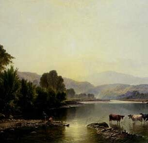Boddington, Henry John – Morning On The Dee Oil Painting Reproductions