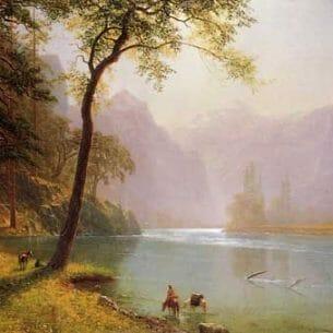 Bierstadt, Albert(USA) – Kern's River Valley, California Oil Painting Reproductions
