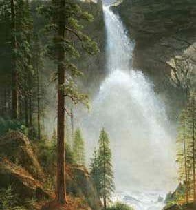Bierstadt, Albert(USA) – Nevada Falls Oil Painting Reproductions