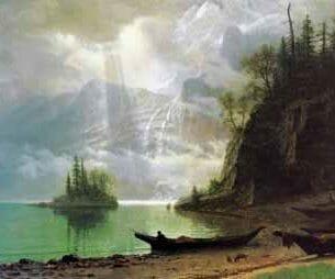 Bierstadt, Albert(USA) – The Island