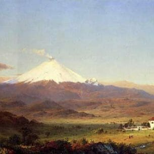 Church, Frederic Edwin: Cotopaxi Oil Painting Reproductions