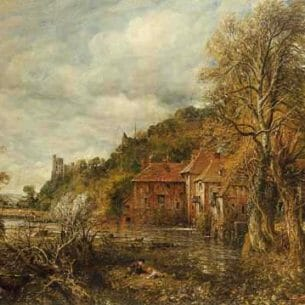 Constable, John: Arundel Mill and Castle Oil Painting Reproductions