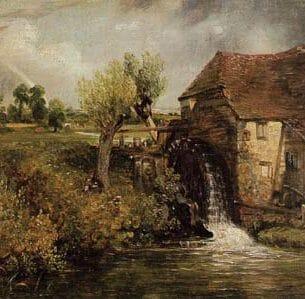 Constable, John: Gillingham Mill