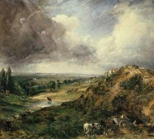 Constable, John: Branch Hill Pond, Hampstead Heath Oil Painting Reproductions