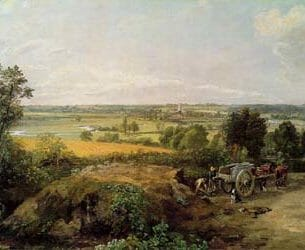 Constable, John: Stour Valley and Dedham Church Oil Painting Reproductions