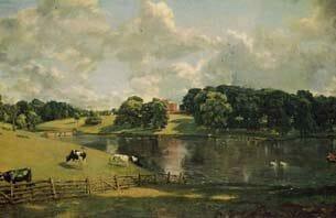 Constable, John: Wivenhoe Park, Essex