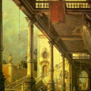 Canaletto(Italy): Perspective Oil Painting Reproductions