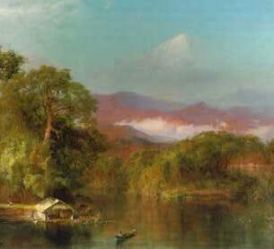Church, Frederic Edwin(USA): Chimborazo Oil Painting Reproductions