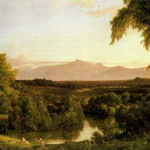 Cole, Thomas(USA): View on the Catskill – Early Autumn Oil Painting Reproductions