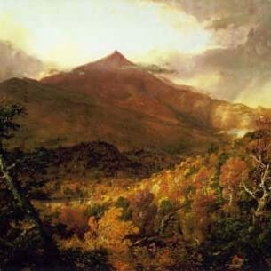 Cole, Thomas(USA): Schroon Mountain, Adirondacks Oil Painting Reproductions