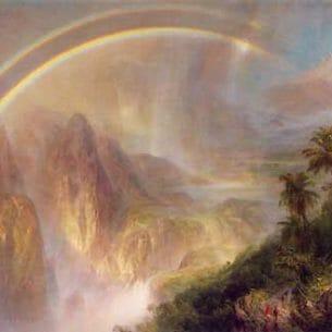 Church, Frederic Edwin(USA): Rainy Season in the Tropics Oil Painting Reproductions