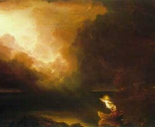 Cole, Thomas(USA): The Voyage of Life – Old Age Oil Painting Reproductions