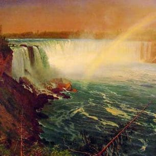 Bierstadt, Albert(USA): Niagara