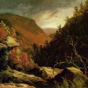 Cole, Thomas(USA): The Clove, Catskills Oil Painting Reproductions
