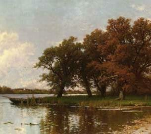Bricher, Alfred Thompson(USA) – Early Autumn on Long Island Oil Painting Reproductions