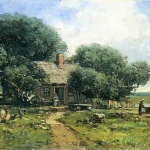 Andrew W. Melrose – A Farm Along the River
