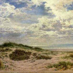 Benjamin Leader – A Fine Morning on the Sussex Coast Oil Painting Reproductions