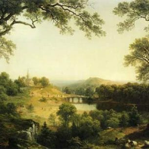 Asher B. Durand – Sunday Morning Oil Painting Reproductions