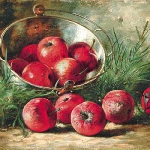 AUGUST LAUX(USA): Apples in a Tin Pan