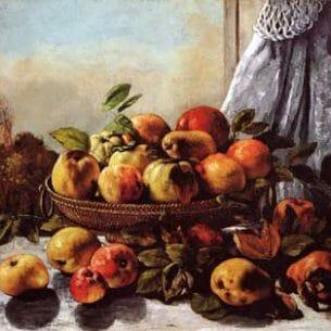 Courbet, Gustave(France): Fruit Still Life