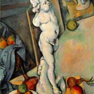 Cezanne, Paul: Still Life with Plaster Cupid Oil Painting Reproductions