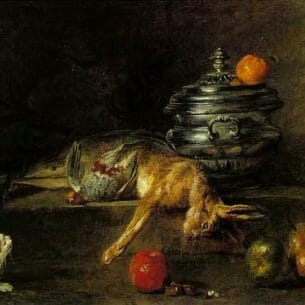Chardin, Jean-Baptiste-Simeon: The Silver Tureen Oil Painting Reproductions